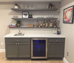 perfect unfinished bar cabinets assembled 60x345x24 in sink base