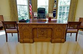 the resolute desk in the oval office has a very curious history