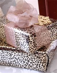 leopard wrapping paper the yellow cape cod easy custom gift wrap solution