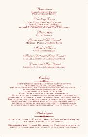 Programs For Weddings Programs For Wedding Ceremony Template Pacq Co