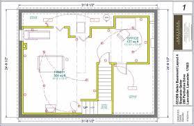 Basement Finishing Floor Plans - basement layouts design finished basement floor plans