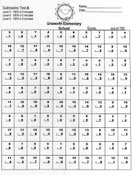 Addition And Subtraction Algebra Worksheets Math Fluency