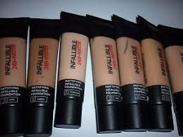 L Shade L Oreal Infallible 24hr Matte Foundation 35ml Choose Your Shade Ebay