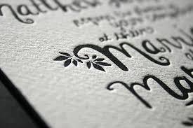 letterpress printing blush bespoke custom letterpress printing in the uk