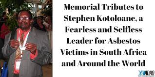 memorial tributes memorial tributes to stephen kotoloane a fearless and selfless