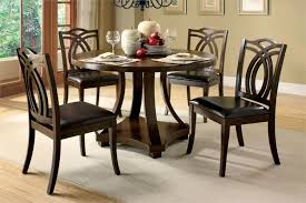 Small Circular Dining Table And Chairs Round Dining Table For 4 Shelby Knox