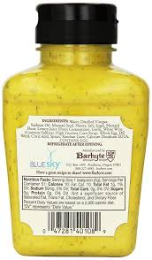 dill mustard saucy dill mustard 9 ounce pack of 6