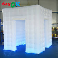 Inflatable Photo Booth Free Shipping White Inflatable Photo Booth 2 5 2 5 2 5m High