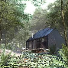 le si e dom w lesie superhelix pracownia projektowa