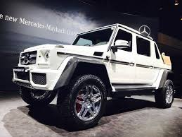 suv benz 2018 mercedes maybach g650 landaulet is the most expensive suv