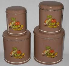 vintage metal kitchen canister sets 161 best kitchen canister sets images on kitchen