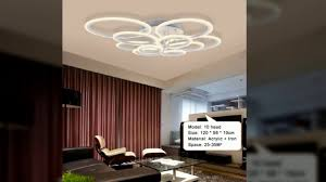Ceiling Lighting Living Room by Remote Control Modern Led Ceiling Lights For Living Room Bedroom