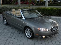 audi a4 2007 convertible 2007 audi a4 convertible 2 0t fort myers florida for sale in fort