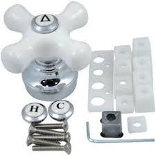 Universal Shower Faucet Handles Pfister 3 Handle Tub U0026 Shower Faucet With Porcelain Cross Handles