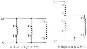 wiring diagram single phase motor wiring diagram 12 lead 480 volt