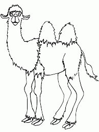 coloring page camel coloring pages 2