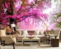 wandtapete schlafzimmer fototapete fantasie kirschbaum sikawild 3d wohnzimmer schlafzimmer