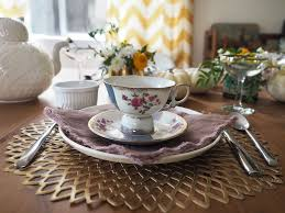 decorate your own tea cup how to host a modern mismatched tea party