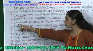 spoken english in tamil malayalam telugu in chennai practical