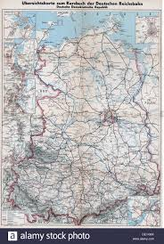 East Germany Map by Geography Travel Germany Transport Transportation Outline Map