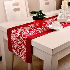 red and white table runner table runner ideas red and white wedding table runner ideas home