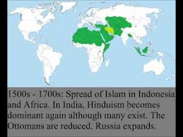 united states of islam map 2016 the spread of islam