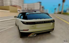 land rover velar 2017 range rover velar 2017 for gta san andreas