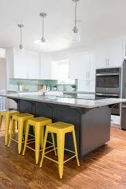 colorful kitchen islands kitchen reveal before and after photos i wash you