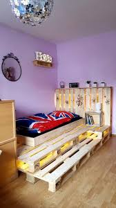 Bedroom Adorable Build Your Own by Bed Design Diy Pallet Toddler Designs Recycled Frame With Led