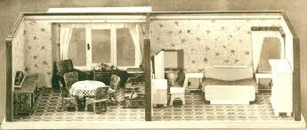 Wohnzimmerschrank Um 1960 Diepuppenstubensammlerin Puppenstuben Albin Schönherr Um 1960