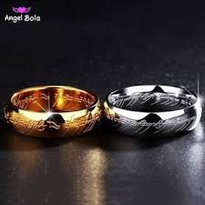 Lord Of The Rings Wedding Band by Best Titanium Wedding Band Sets Products On Wanelo