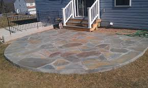 round patio stone download pictures of flagstone garden design