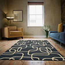 Carpet Ideas For Living Room by Flooring Wonderful Navy Momeni Rugs On Wooden Floor With Blue