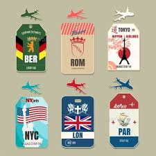 themed luggage tags luggage tag template free psd templates free