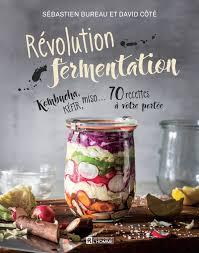 livre cuisine homme livre révolution fermentation kombucha kéfir miso 70 recettes à