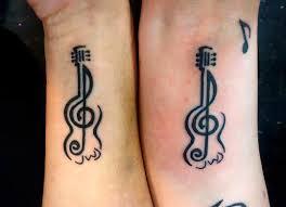 34 realistic guitar wrist tattoos