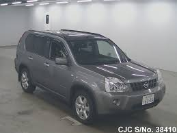 nissan x trail for sale 2007 nissan x trail gray for sale stock no 38410 japanese