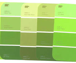 green paint swatches shades of green paint colors shades of green paint colors colour for