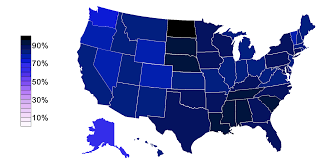 Map Of The Usa States by File Religious Belief In Usa States Png Wikimedia Commons