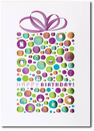 business birthday cards happy birthday foil dotted package box of 25 personalized business