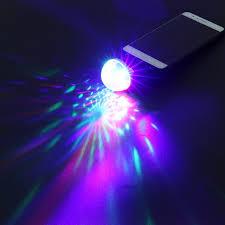 mini disco ball light mini disco ball usb professional rgb 4 led light stage projector