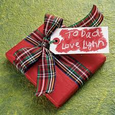 tartan wrapping paper sometimes less is more like using a plain colored wrapping paper
