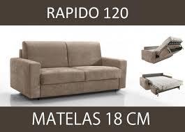 rapido canape lit canape lit 2 places master convertible ouverture rapido 120 cm