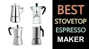 espresso maker electric best stovetop espresso maker youtube
