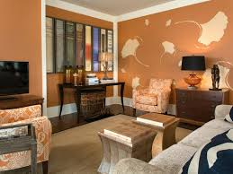 burnt orange living room creative orange livingroom orange accent