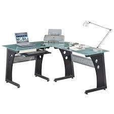 best computer desk design furniture cool black l shaped computer metal desk design tips