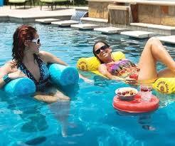 water hammock lounger