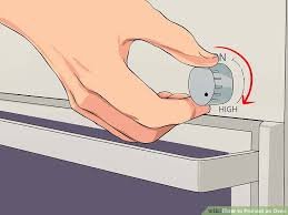 Frigidaire Oven Pilot Light 3 Ways To Preheat An Oven Wikihow