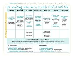 bi weekly whole food meal plan for june 7 u201320 u2014 the better mom