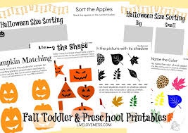 free fall printables for toddlers u0026 preschoolers live love mess